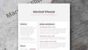 Desaturate Resume