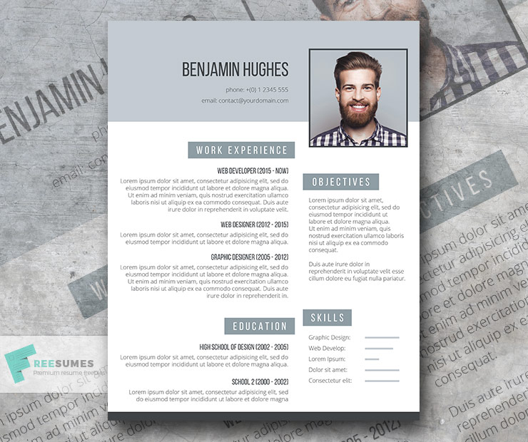 on point  a free resume template to help you stand out