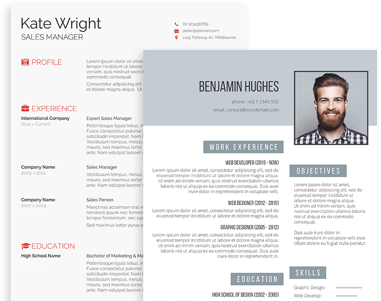 A Prime Destination For Professional Resume Templates