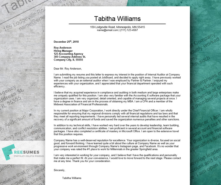 The 12 Best Cover Letter Examples To Nail Your Next Job Application ...