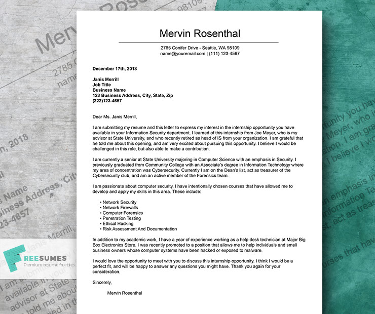 The 12 Best Cover Letter Examples To Nail Your Next Job ...