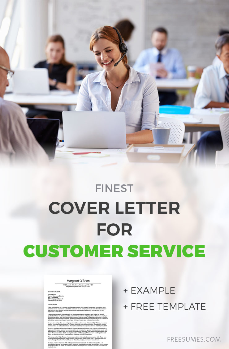 cover letter for customer service