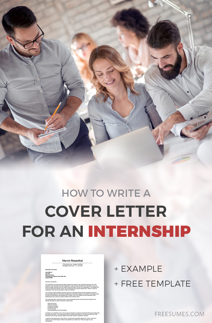 Do You Need Cover Letter For Internship from www.freesumes.com