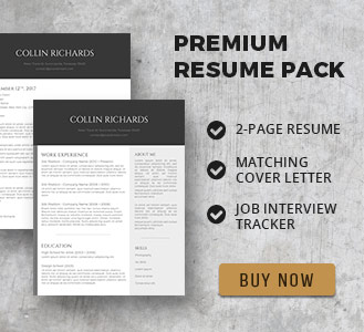 basic resume template pack