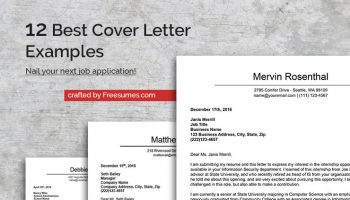 Application Letter Financial Accountant, The 12 Best Cover Letter Examples To Nail Your Next Job Application, Application Letter Financial Accountant