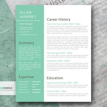a powerful makeover resume template
