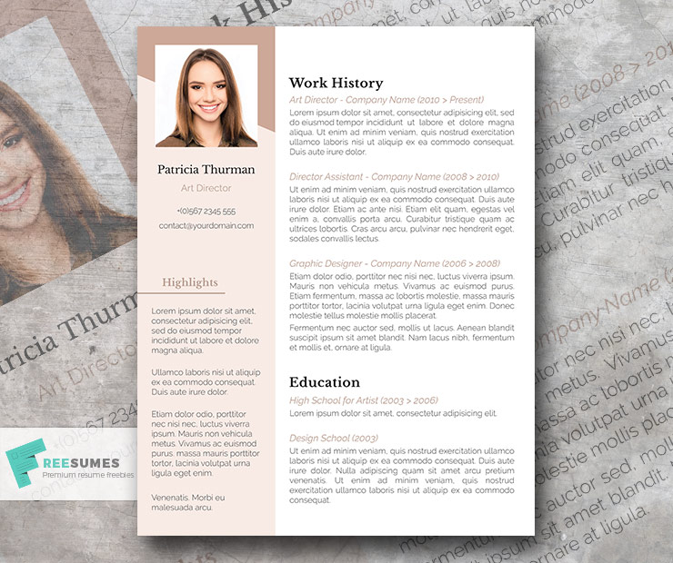 Freesumes Resume Templates from www.freesumes.com