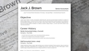the conservative basic resume