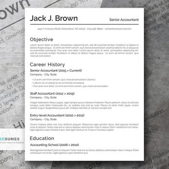 the conservative basic resume