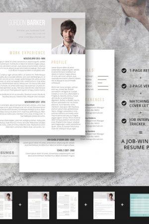 smart portfolio resume pack