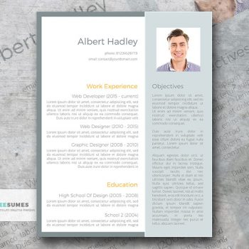 focus resume template