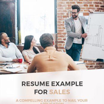 sample sales-resume