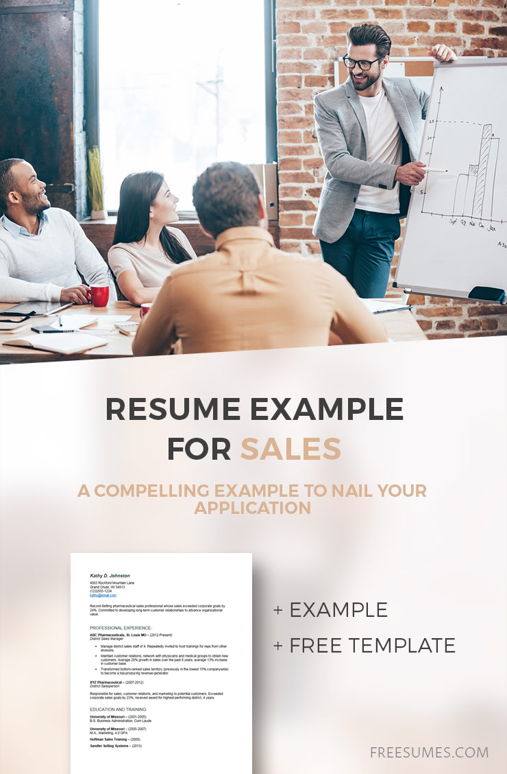 sample sales-resume