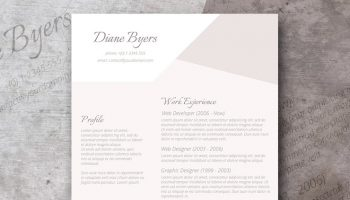 salient power resume template