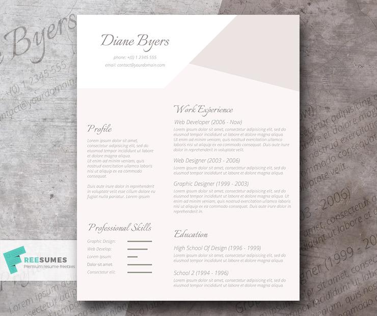 salient power resume template