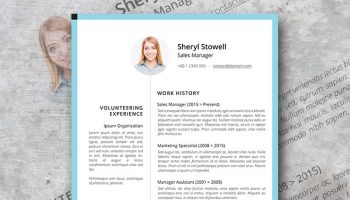 sweet and simple resume