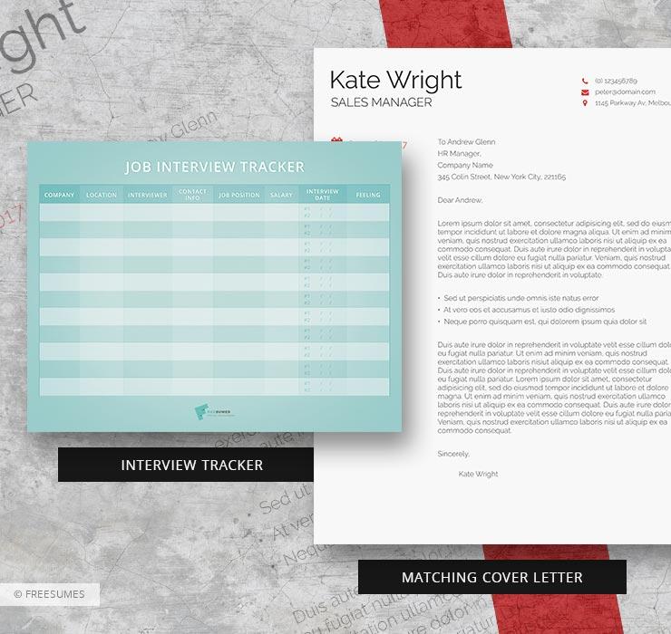 minimalist cover letter