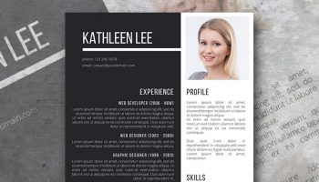 impactful resume template