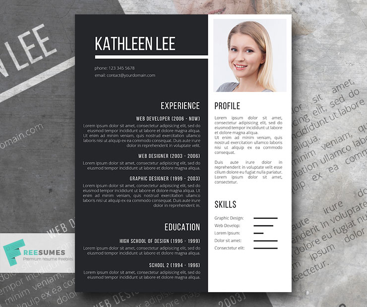 Impactful A Modern Resume Template Freesumes