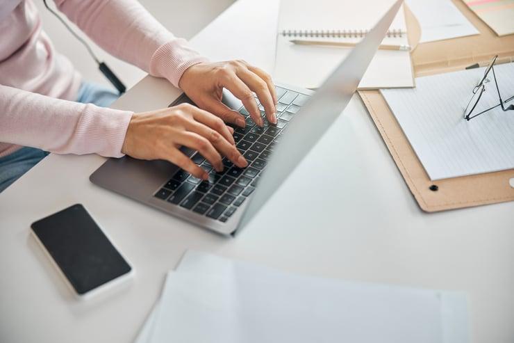 writing resume faster