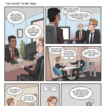 Strip#04 to good to be true