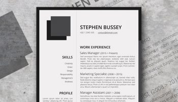fresty resume template