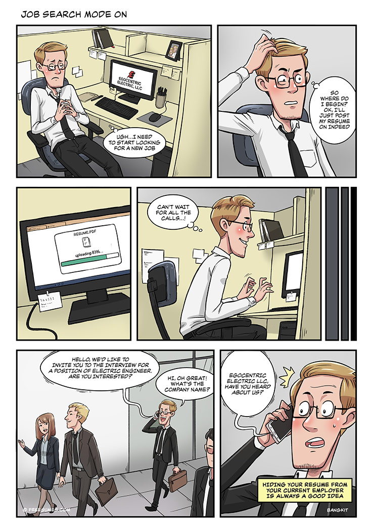 strip#2 job search mode on
