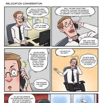 Strip #07 relocation conversation