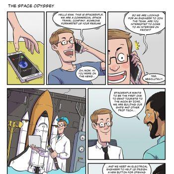 strip #14 a space odyssey