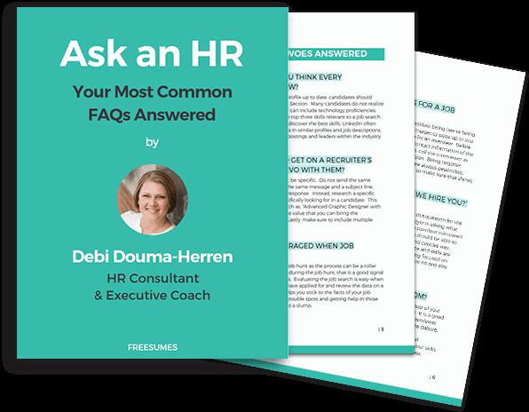 ask an HR
