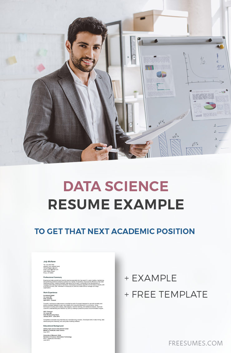 sample data science resume