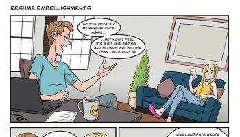strip#18 resume embellishments