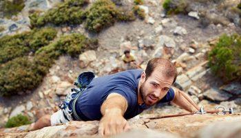 rock climbing hobby