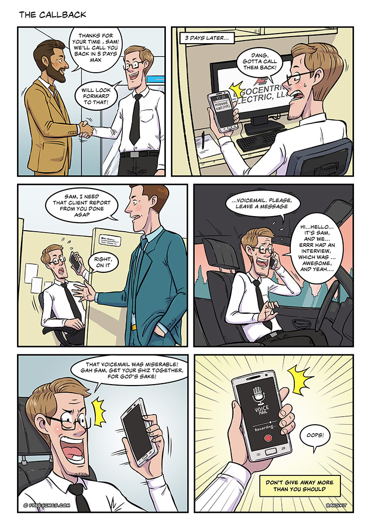 strip#21 the callback