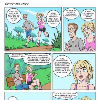 strip #23 corporate lingo