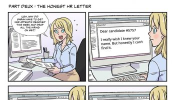 strip #36 the honest HR letter