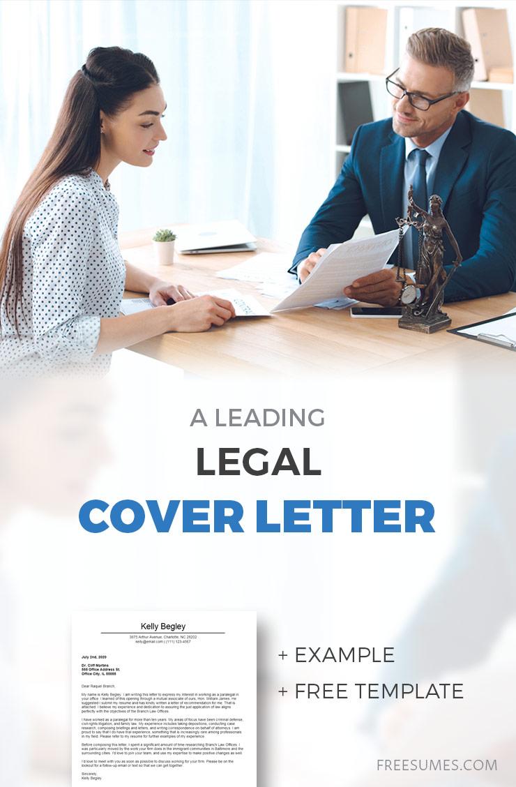 legal cover letter