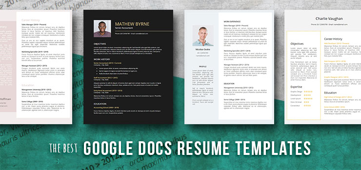 Free Resume Templates For Google Docs Freesumes
