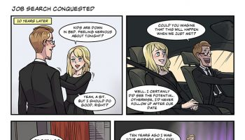 strip #49 job search conquested