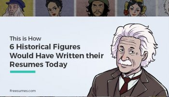 historical figures resumes