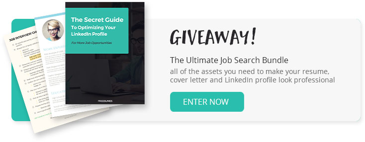 job search bundle giveaway