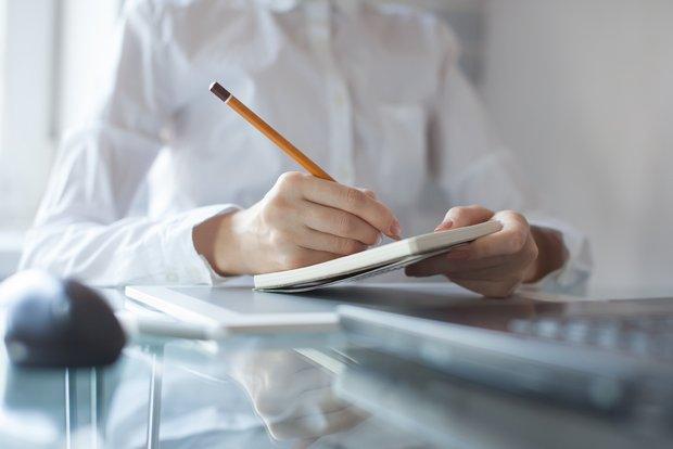 make a list of small tasks