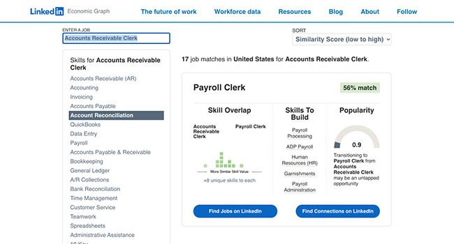 career explorer tool Linkedin