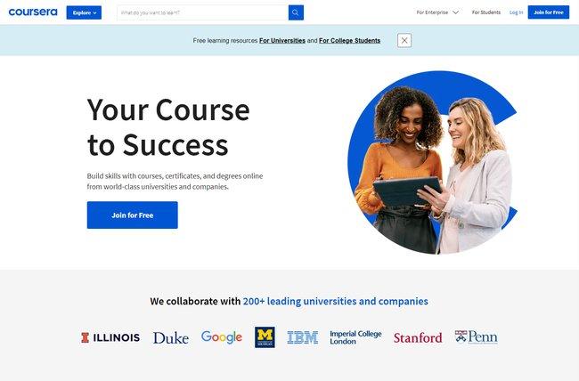 Coursera e-learning