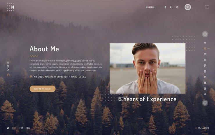 Murka WordPress-portfolio theme
