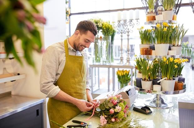 florist seasonal job