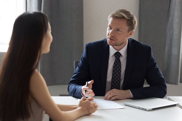 HR ask question during the interview