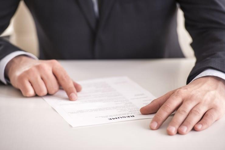 how far resume should go