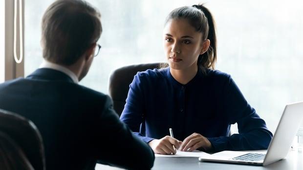 internship job interview questions